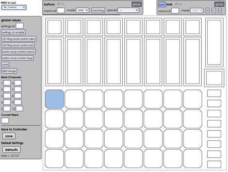 Livid Instruments Base web-based editor